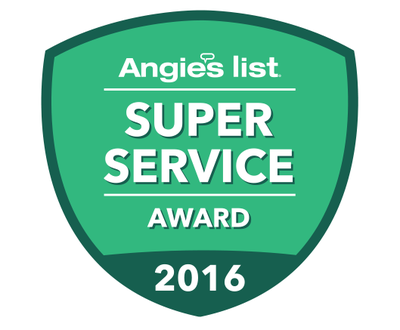 Love Pool Care - Angie's List Super Service Award 2016